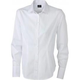James & Nicholson - Ladies Long-Sleeved Blouse
