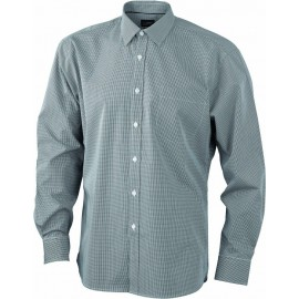 James & Nicholson - Men´s LSL Shirt Check