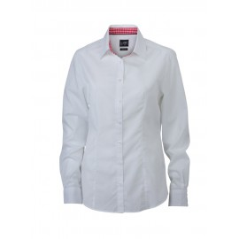 James & Nicholson - Ladies´ Plain Shirt
