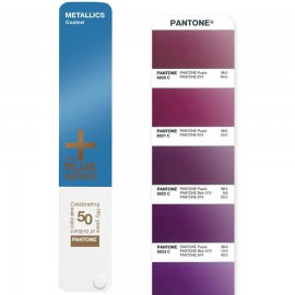 Pantone PLUS Metallic Formula Guide Coated