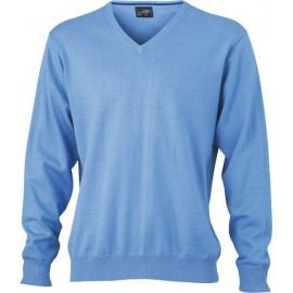 James & Nicholson - Men´s V-Neck Pullover