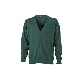 James & Nicholson - Men´s V-Neck Cardigan