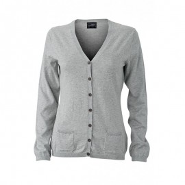 James & Nicholson - Ladies´ Cardigan