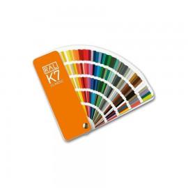 RAL K7. Farvevifte. 210 farver.