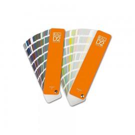 RAL D2. Farvevifter med 1625 farver, Semimatt