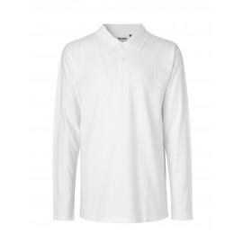 Neutral - Mens LS Polo Shirt