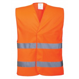 Port West - Hi vis two band vest
