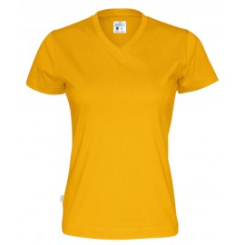 CottoVer - T-Shirt V-Neck Lady