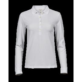 Tee Jays - Ladies Luxury Stretch Long Sleeve Polo