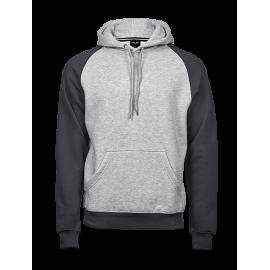 Tee Jays - Two-Tone Hooded Sweatshirt