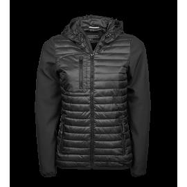 Tee Jays - Ladies Hooded Crossover Jacket