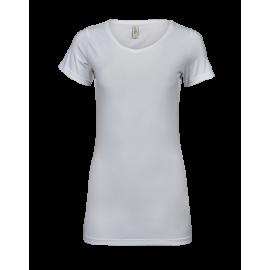 Tee Jays - Ladies Fashion Stretch Tee Extra Length