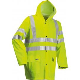 Lyngsøe Microflex Hi-Viz Regnjakke og bukser LR552