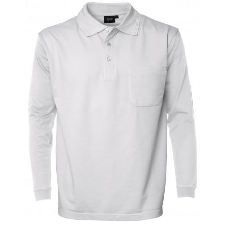 Pro Wear Poloshirt m. Lange Ærmer og Brystlomme