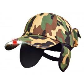 Leditsee - Hunter cap med ørevarmere