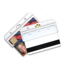 100 stk. ID kortholder m. åben bund