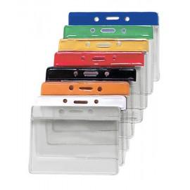 100 stk. Farvet ID kortholder i vinyl