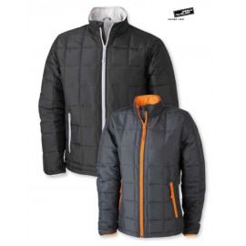 james & nich olson. Ladie's Padded Jacket