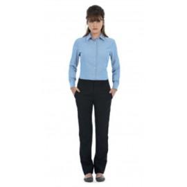 B&C Oxford Dameskjorte LSL