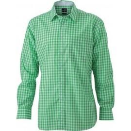 J&N langærmet herreskjorte