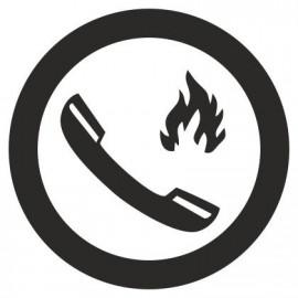 IC Skilte - Alarmtelefon