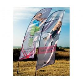 Macrodot - Kampagne Beachflag