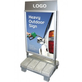 Logotop til Heavy Outdoor Sign