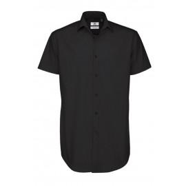 B&C - Herre black tie skjorte