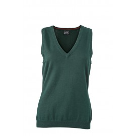 James & Nicholson - Ladie´s V-Neck Pullunder