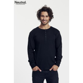 Neutral - Mens LS. Granddad T-shirt