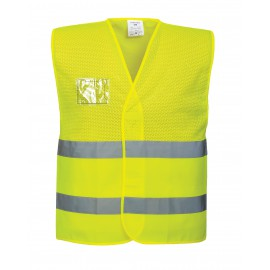 Port West - Hi vis mesh vest
