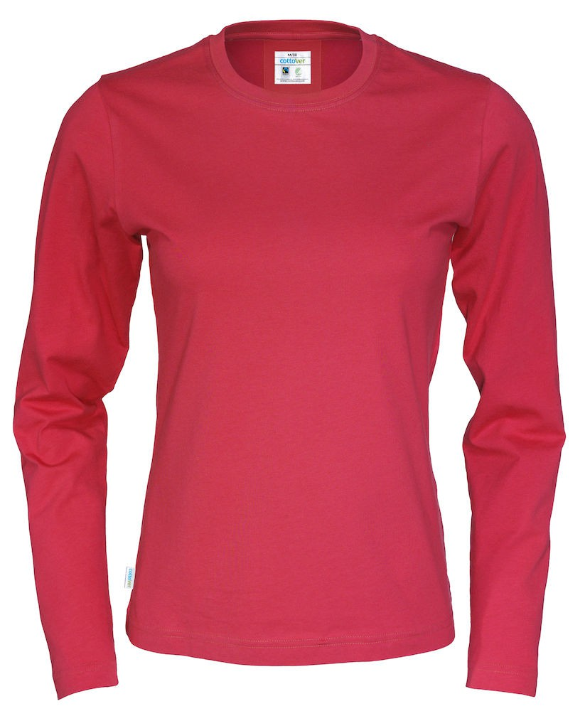 0cfcf68ec5c CottoVer - T-Shirt Long Sleeve Lady - web-butik.info