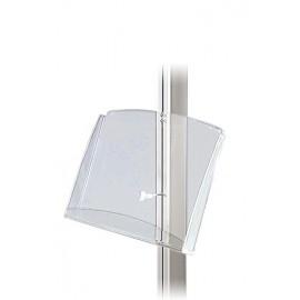 Acrylholder til multistand. A4