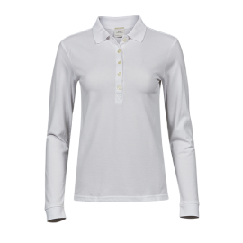 Tee Jays - Ladies Luxury Stretch Long Sleeve Polo