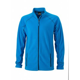 James & Nicholson - Men´s Structure Fleece jacket