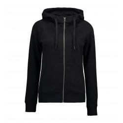 Core full zip hoodie, dame