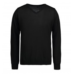 ID - Classic V-neck pullover, herre