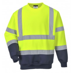 Portwest - Two Tone Hi-Vis Sweatshirt
