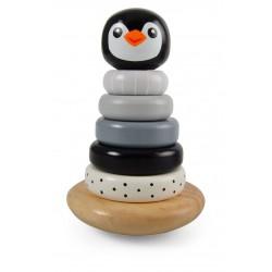 Pingvin stabler, sort