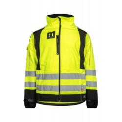 Lyngsøe - Åndbar Hi-Viz softshell jakke