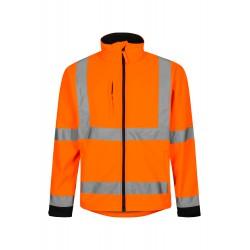 Lyngsøe - Hi-Vis Softshell jakke