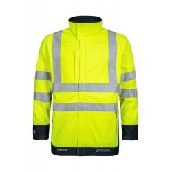 Lyngsøe - Åndbar Hi-Vis softshell jakke