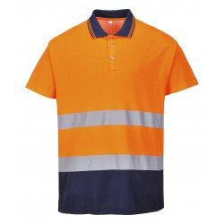 Portwest - Two Tone Cotton Comfort Polo