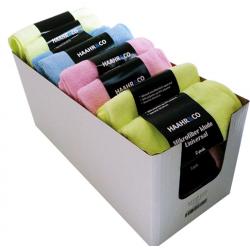 2 pak - mikrofiberklude i assorterede farver.