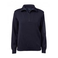 Clipper - Dame Zip-hals pullover