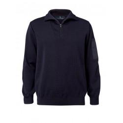 Clipper - Herre Zip-hals pullover