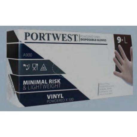 Portwest - Klare engangshandsker