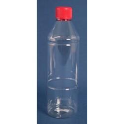 115 stk. Plastflasker 500 ml.