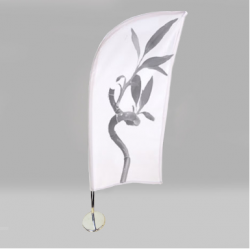 Feather, mini beachflag