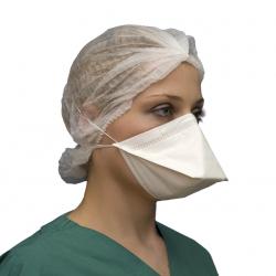 Respirator ansigtsmasker med flad fold